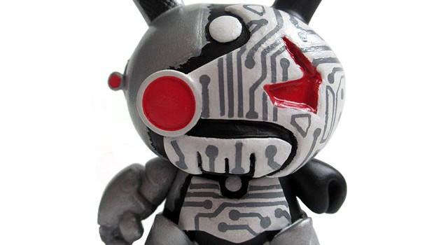 """Circuit Death"" Custom 3″ Dunny"