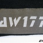 AW177 Circuit Death T-Shirt Hem Tag
