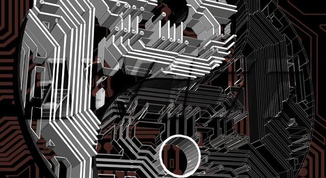 """Circuit Harmony"" Yin-Yang Logo"