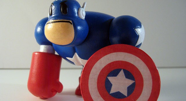 Captain America Custom Muttpop Tcho!