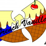 AW177 x GFK French Vanilla Flag Ice Cream Logo