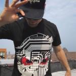 Benny Tenacious Toys Wearing Circuit Death T-Shirt