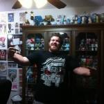 John Stokes Wearing Circuit Death T-Shirt
