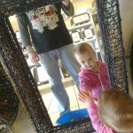 Mark & Lily Wearing Circuit Death T-Shirt