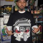 Nemo Wearing Circuit Death T-Shirt