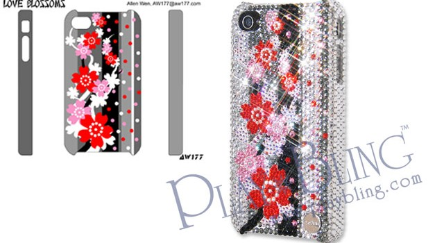 PlayBling Swarovski Elements Designer iPhone Case