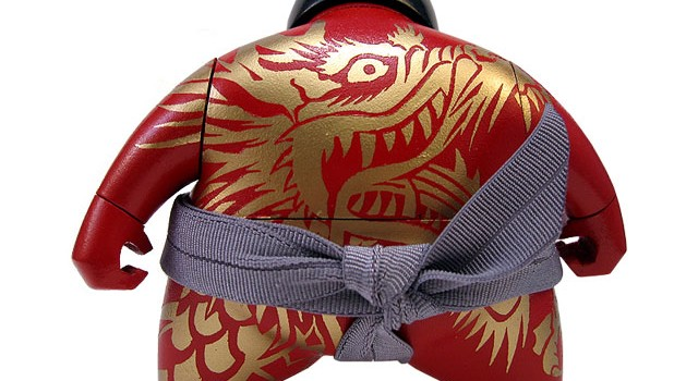 RAWRS Collaboration Custom Dragon Lunar New Year Bitsumo
