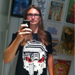 Rob Zagula Wearing Circuit Death T-Shirt