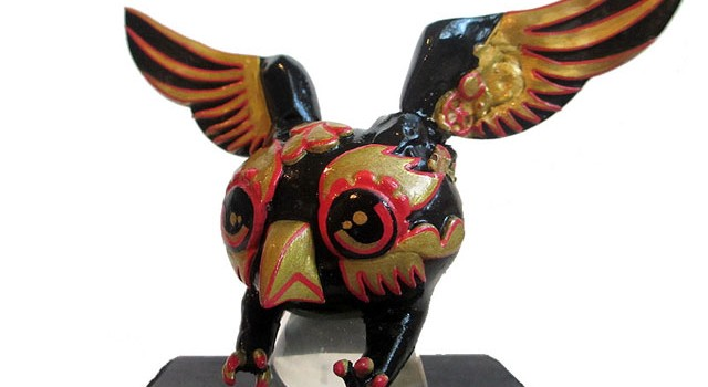 "Matt Anderson Artist Series Custom ""Night Terror"" NYCC Owl Dunny"