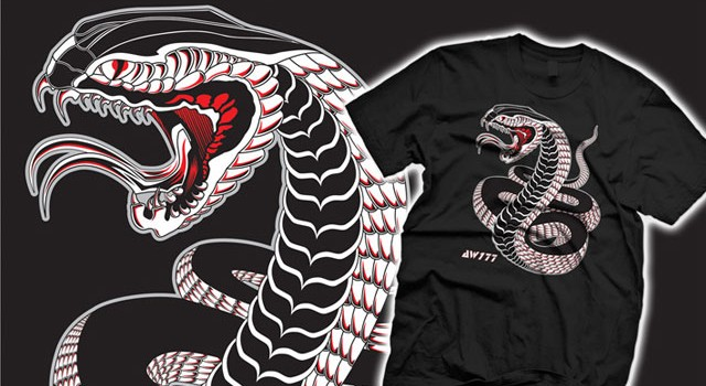 """AW177 x outsmART originals: """"Year of the Snake"""" T-Shirt – SOLD OUT!"""