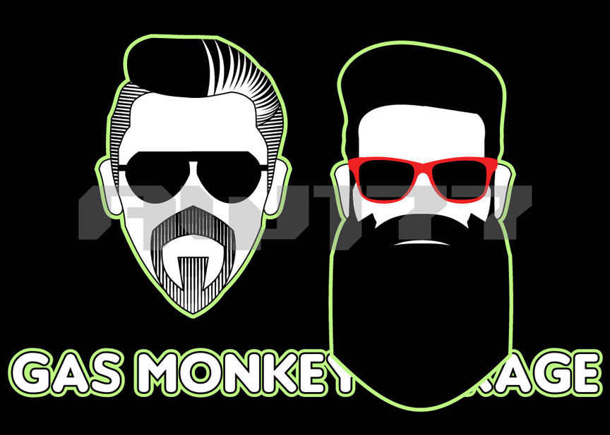 Gas Monkey Garage T-Shirt Design Contest Entry
