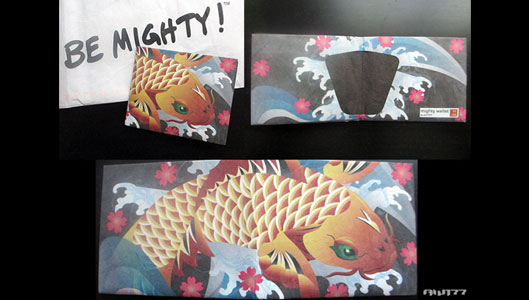 AW177 Koi Mighty Wallet One-Off Blog