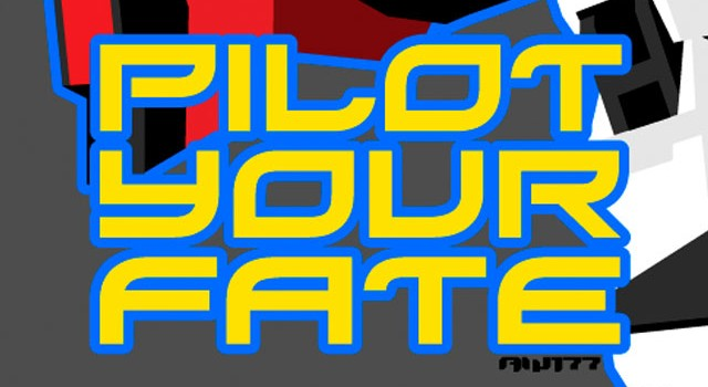 """PILOT YOUR FATE"" Mecha Artwork"