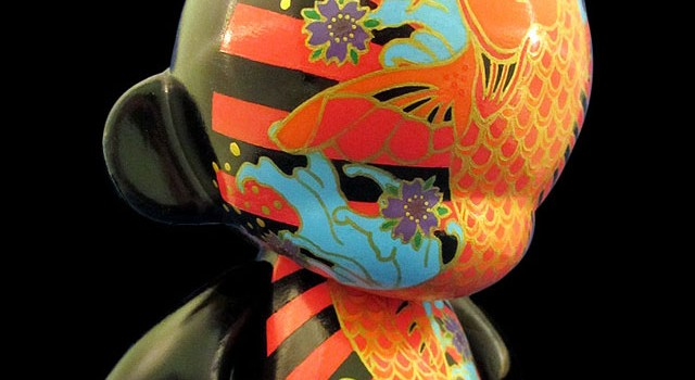 """Happy Birthday Josie"" Custom 7″ Kidrobot Munny"