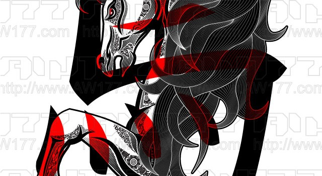"""""""Year of the Horse"""" Chinese New Year Artwork"""
