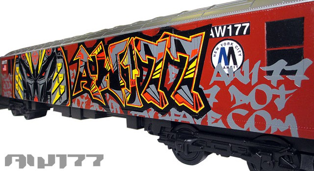 """Machine Type AW177″ Custom All City Style Train"