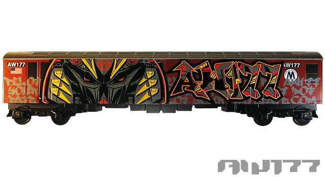"""Machine Type AW177"" Custom All City Style Train"