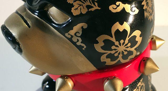 """""""Danger Foo"""" Custom Tenacious Toys Pit Bull Mascot Figure – SOLD!"""